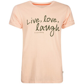 Nihil Live Love Laugh Kortærmet T-shirt Børn orange